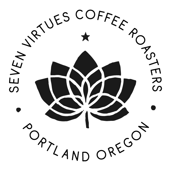 Seven Virtues Coffee Roasters (Zipper)